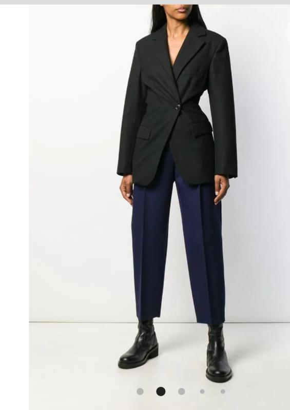 Шерстяные зауженные брюки высокая посадка в стиле alexander mc...