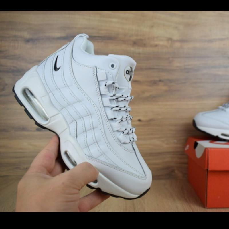 Зима кроссовки nike air max 95 sneakerboot ботинки зимние