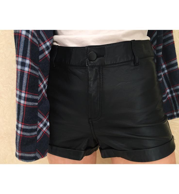 Полная распродажа !! 🔥🔥крутые кожаные шорты демисезон divided ...