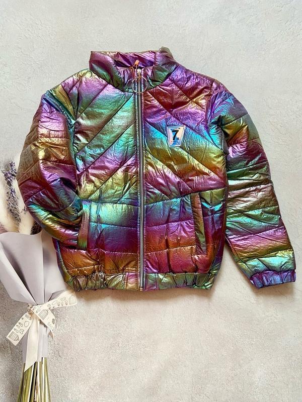 Демисезонная куртка, куртка весенняя,  куртка хамелеон