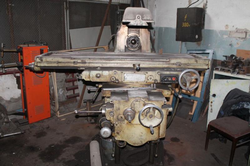 6М83 горизонтально-фрезерный станок