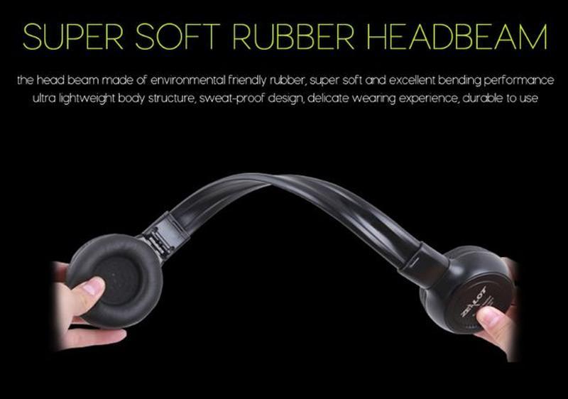 Беспроводные Bluetooth Наушники Складные Hi-Fi Стерео Zealot B... - Фото 6
