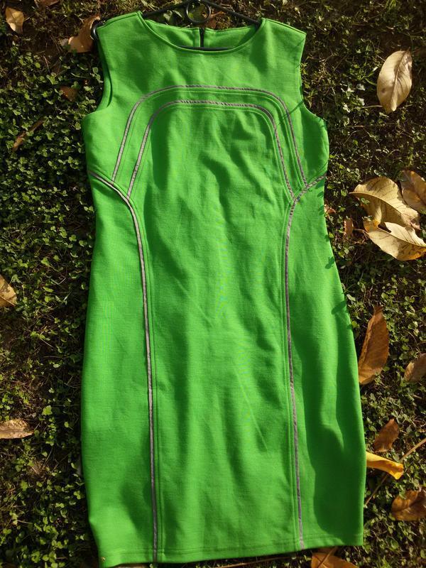 Шикарное платье сарафан трикотаж из германии