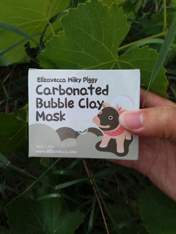 Elizavecca milky piggy carbonated bubble clay mask пузырьковая...