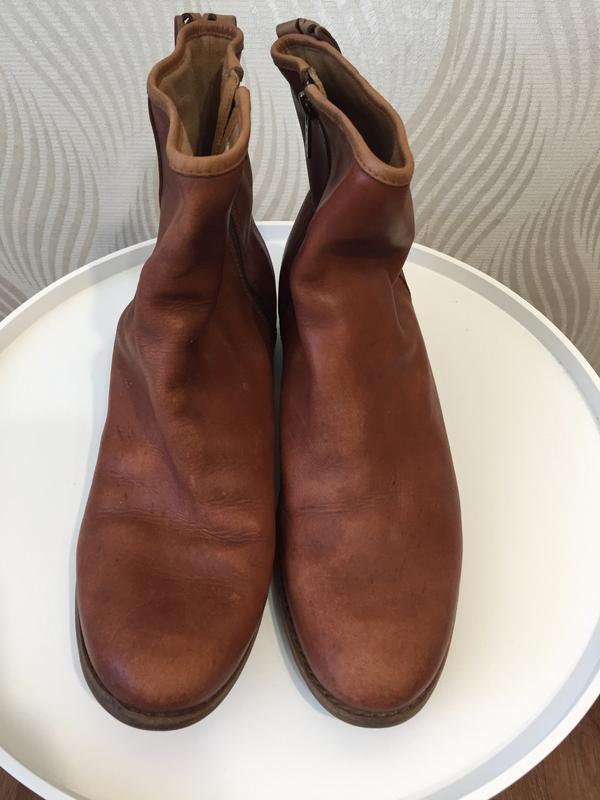 Кожаные ботинки ботильоны timberland - Фото 3