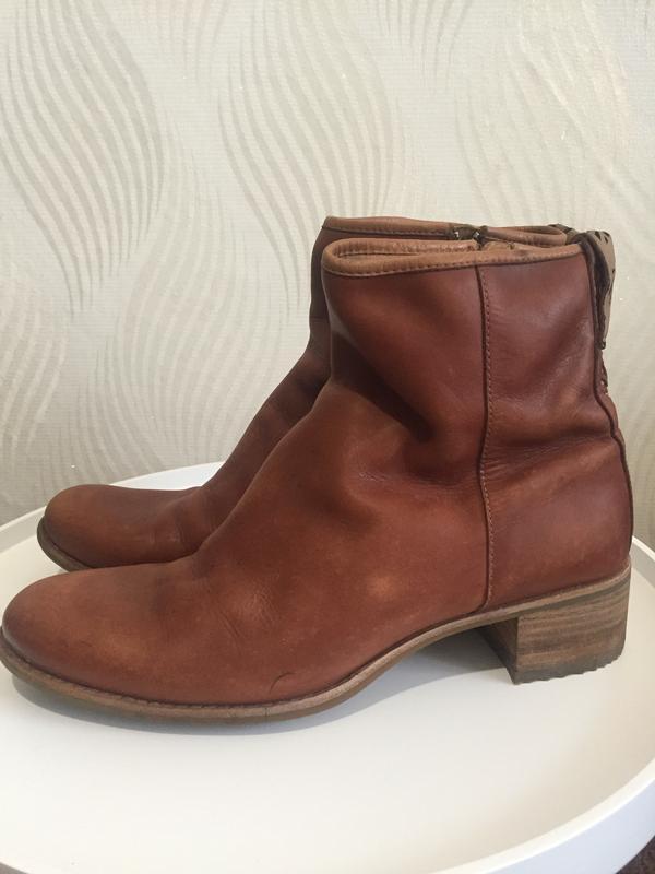 Кожаные ботинки ботильоны timberland - Фото 5