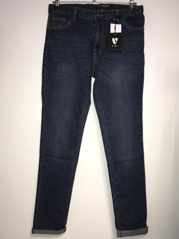 Стильные скинни джинсы с высокой посадкой англия (M)