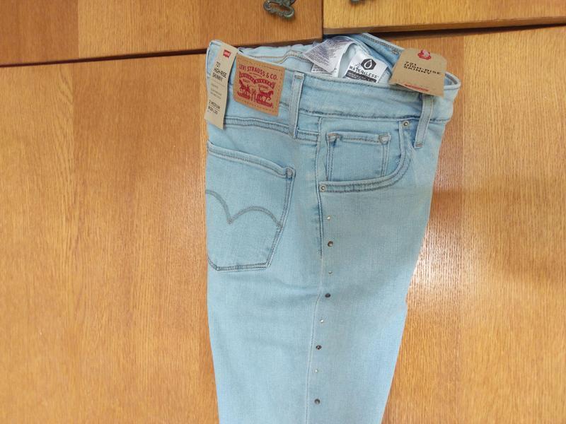 Levis 721 высокая талия. американские джинсы. - Фото 2