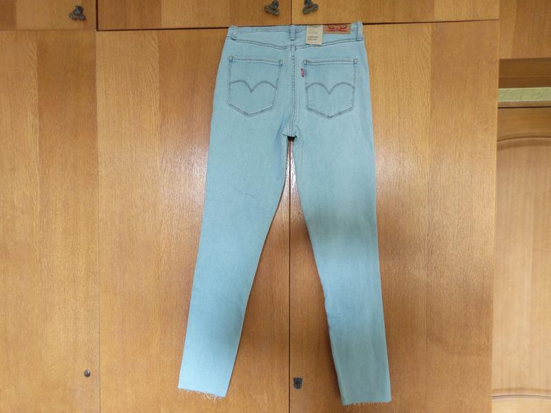 Levis 721 высокая талия. американские джинсы. - Фото 3