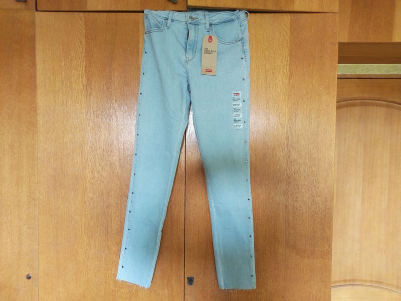 Levis 721 высокая талия. американские джинсы. - Фото 4