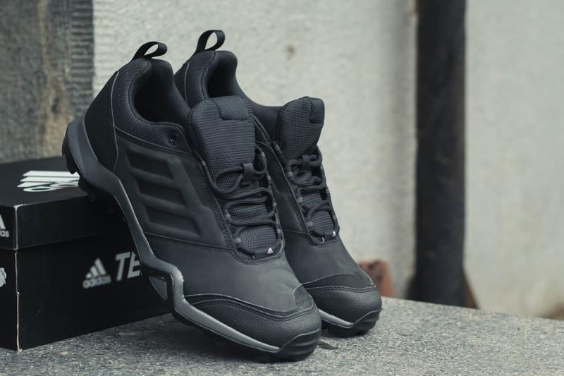 Кожаные кроссовки adidas terrex brushwood leather{{оригинал}!