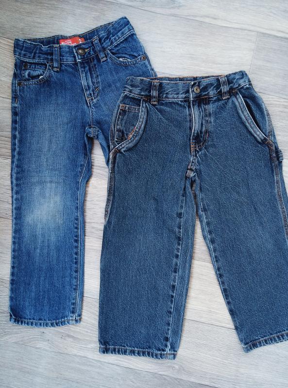 Джинсы набор джинс на мальчика 4 года