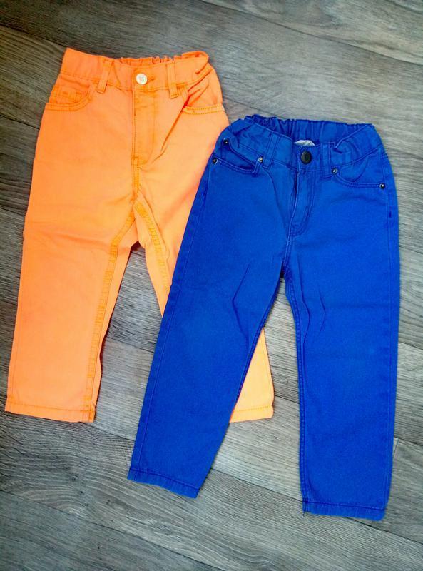 Джинсы набор джинс на 12-18 мес 1.5-2 года