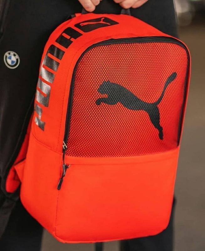 Красный молодежный ,городской, спортивный рюкзак - Фото 2