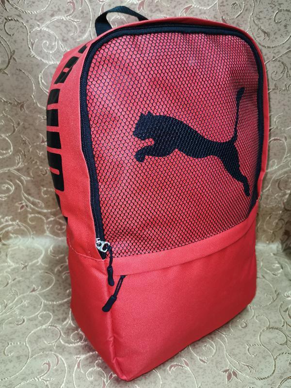 Красный молодежный ,городской, спортивный рюкзак - Фото 3