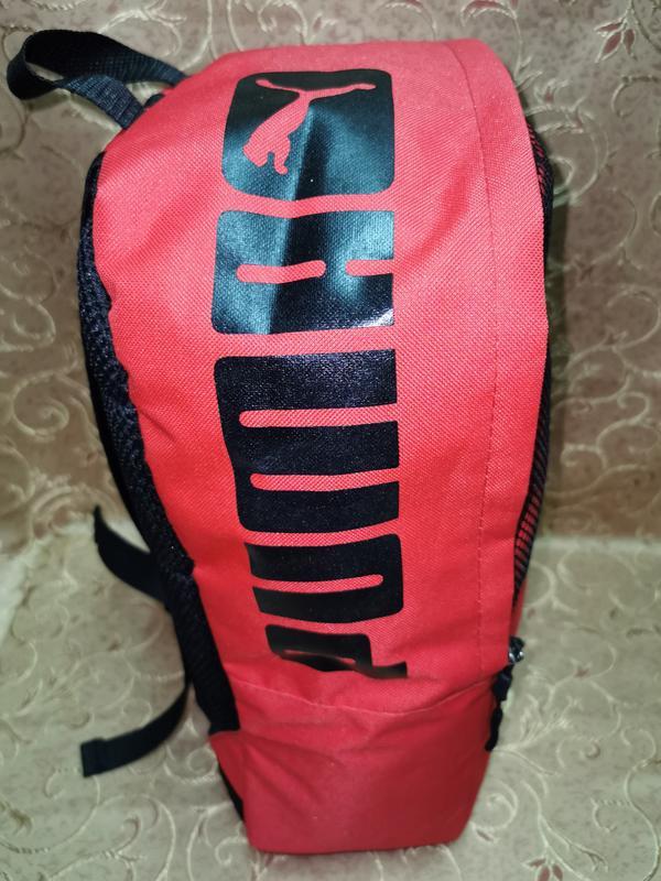 Красный молодежный ,городской, спортивный рюкзак - Фото 4