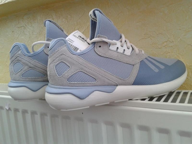 Кроссовки adidas tubular runner (40р. 47р.) оригинал!! -30% - Фото 3