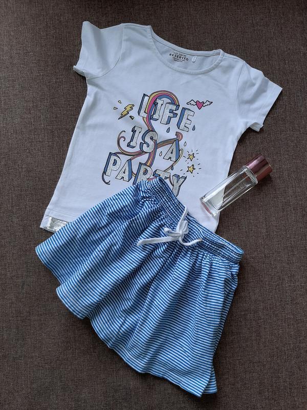 Комплект футболочка и юбочка