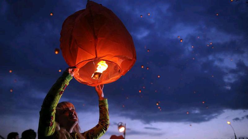 Небесные фонарики - Фото 4