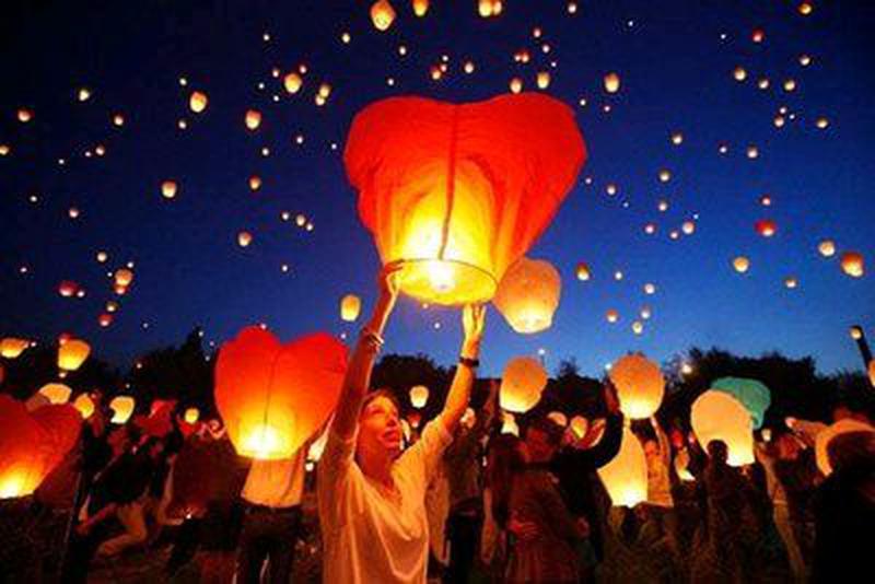 Небесные фонарики - Фото 2