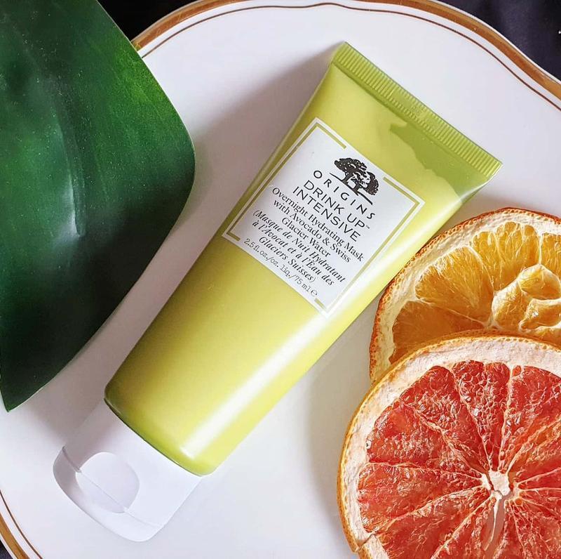 Ночная маска для лица с авокадо origins drink up intensive ove...