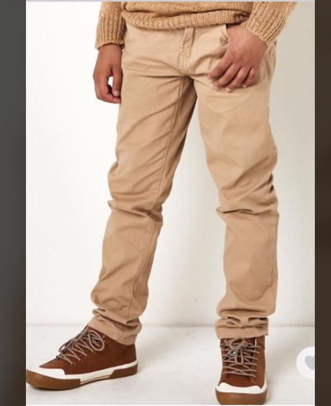 Брюки джинсы для мальчика бежевые riot club англия на 2-14 лет
