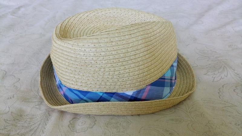 Соломенная шляпа the children's place на мальчика 2-3 лет