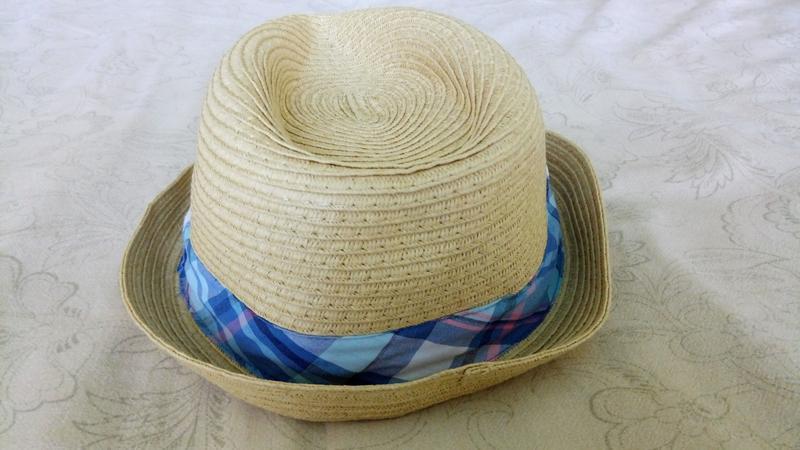 Соломенная шляпа the children's place на мальчика 2-3 лет - Фото 5