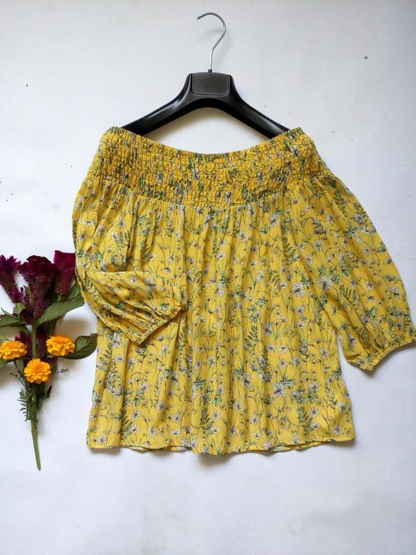 Блуза с открытым плечами 12