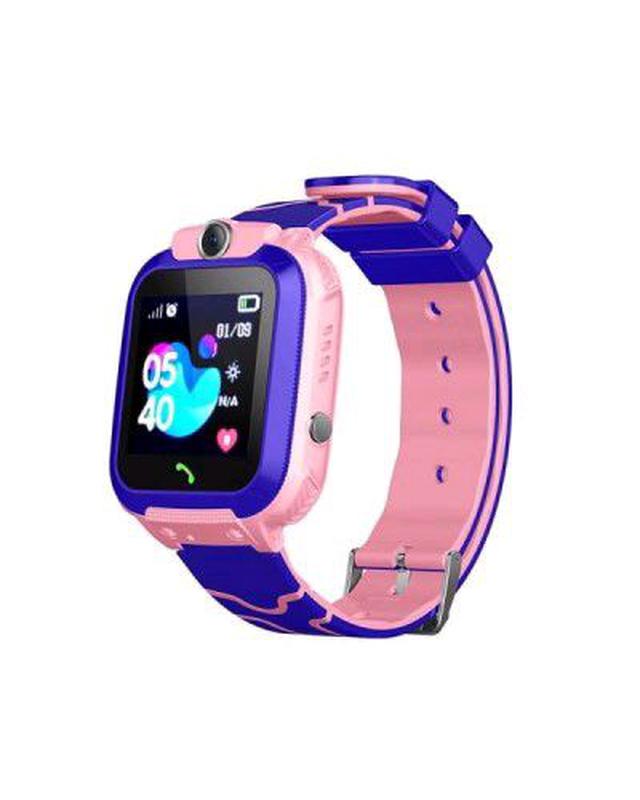 Детские часы SMART BABY WATCH Q12 (LBS) розовые с камерой и сим