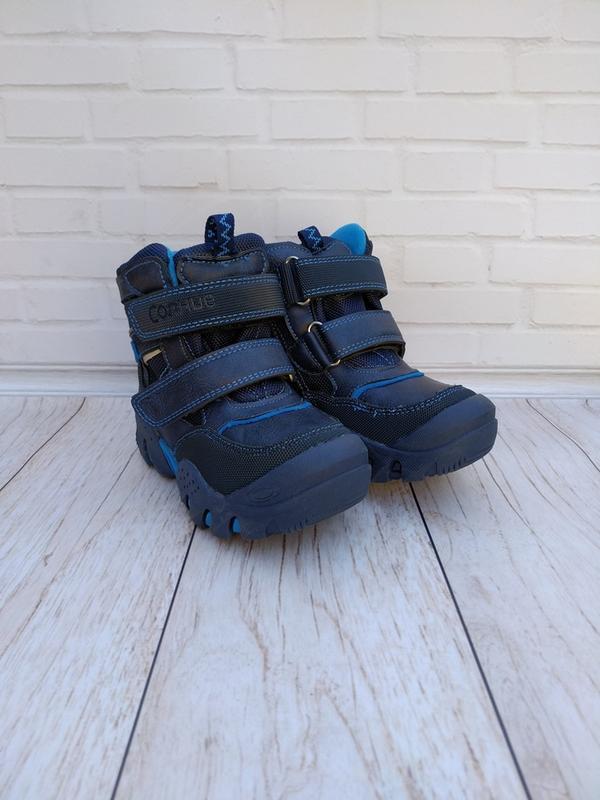 Зимние ботинки с усиленным носком на мальчиков.