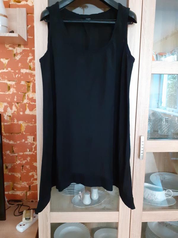 Обалденное платье  туника h&m большого  размера