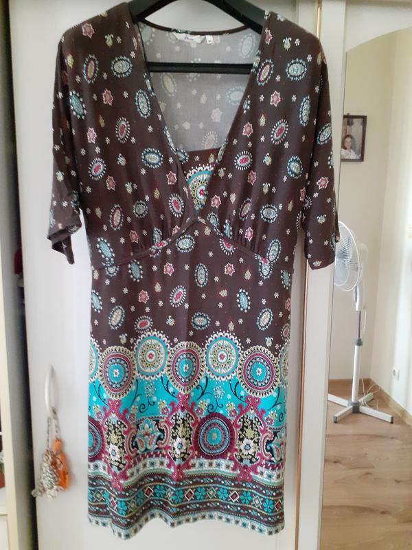 Платье в стиле бохо etam