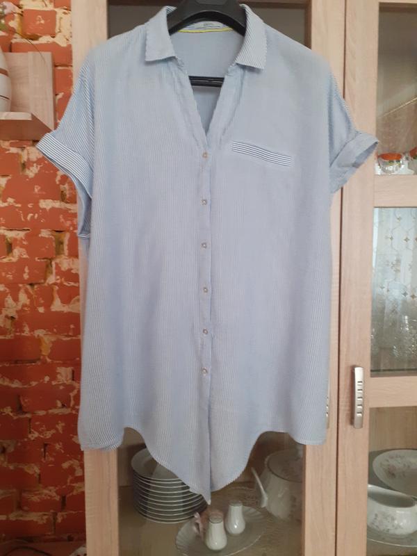 Котоновая рубашка cecil большого размера