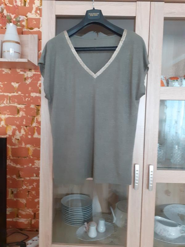 Натуральная блуза  chicoree большого размера