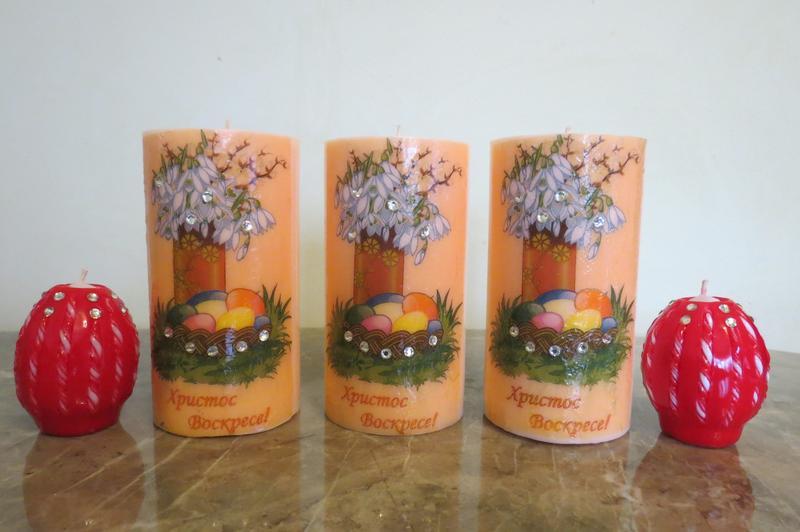 Резные свечи ручной работы - Фото 5