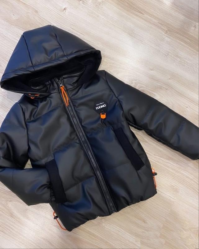 Куртка ждя мальчика эко кожа