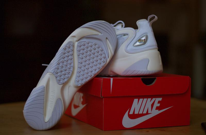 Продам Nike Zoom 2K trainers in triple white・11 US・A00354 101 - Фото 2