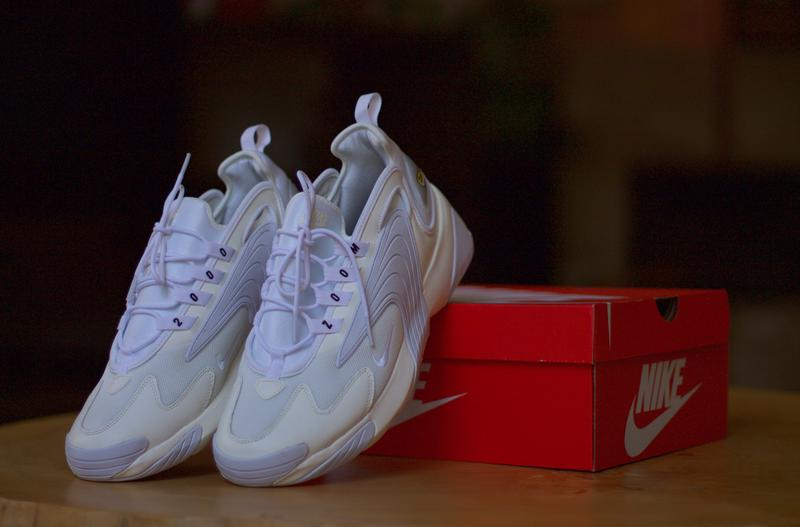 Продам Nike Zoom 2K trainers in triple white・11 US・A00354 101