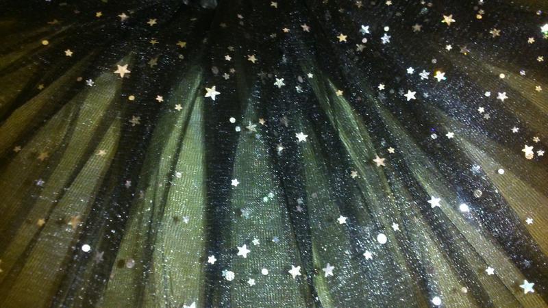 Фатиновая юбка-пачка со стразами 2-7 лет - Фото 2