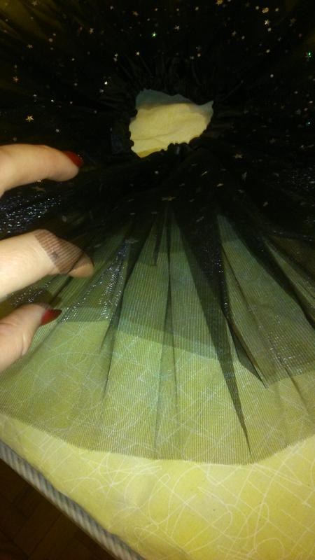 Фатиновая юбка-пачка со стразами 2-7 лет - Фото 3