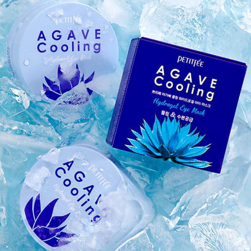 Гидрогелевые патчи petitfee agave cooling hydrogel eye patch