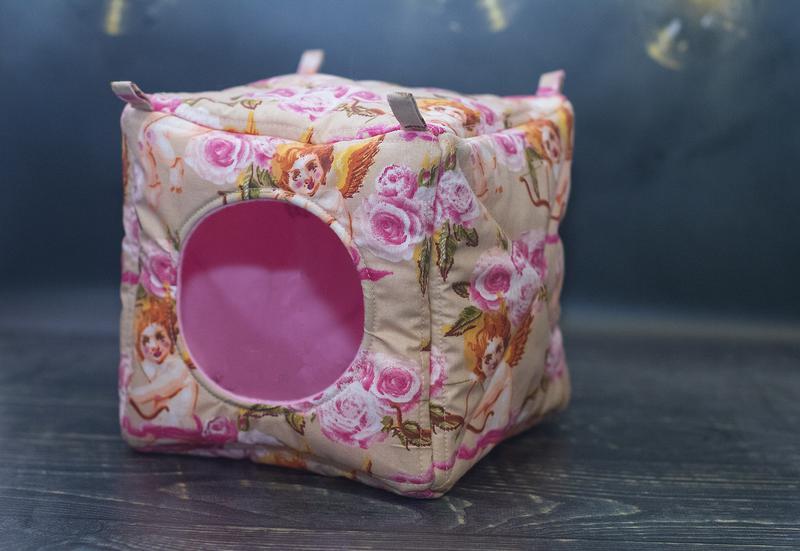 Домик кубик для крыс, мягкий - Фото 3