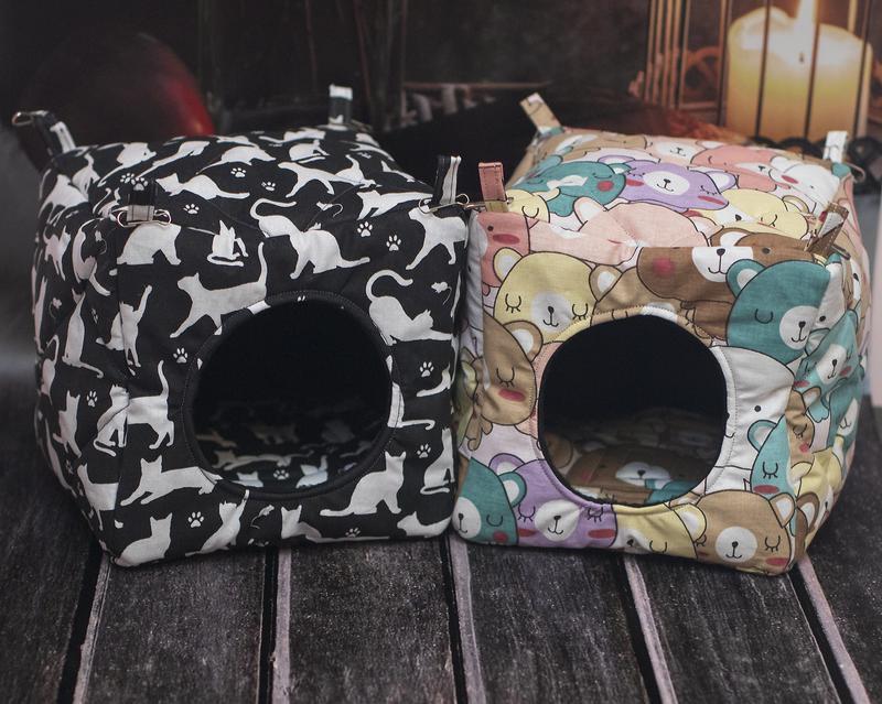 Домик кубик для крыс, мягкий - Фото 2