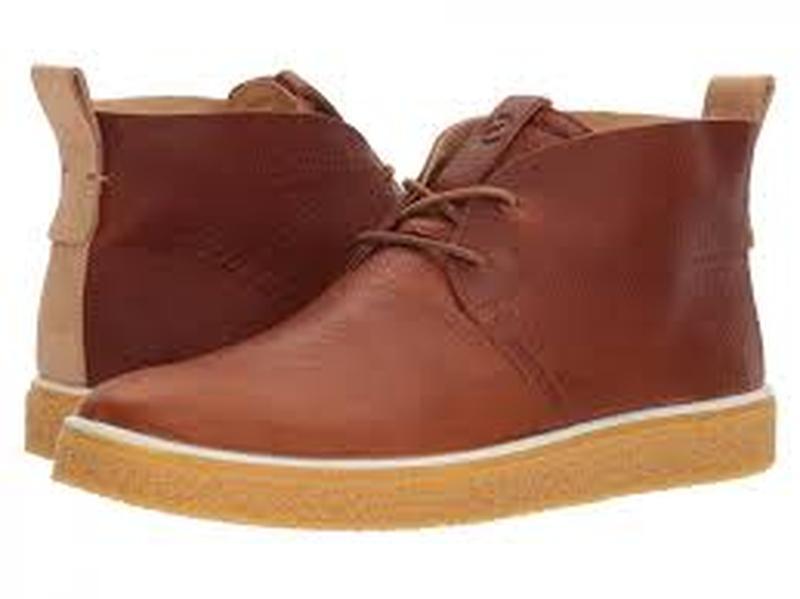 Ботинки кожаные ecco оригинал из сша
