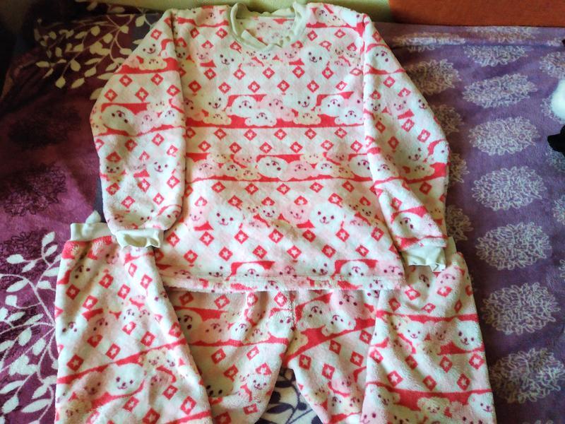 Яркая теплая пижама