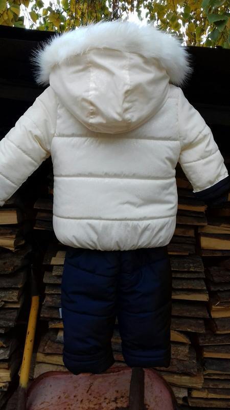 Зимние комбинезоны для девочки - Фото 3