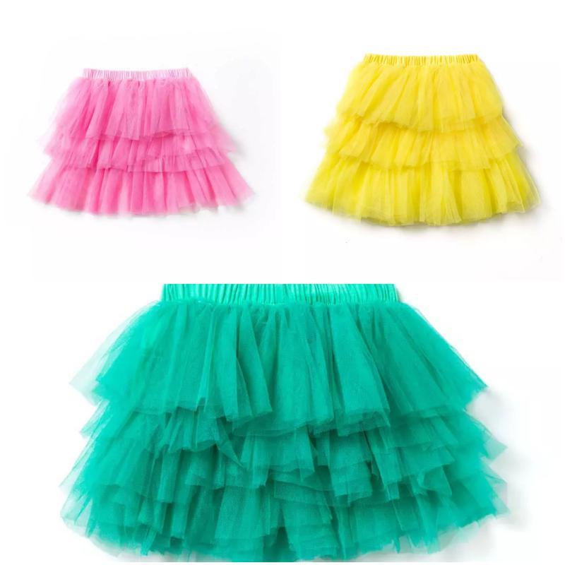 Детская нарядная юбочка/юбка, 2- 5 лет, 3 цвета, новая