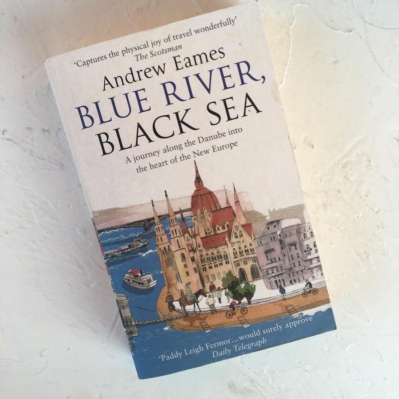 Книга на английском языке andrew eames blue river black sea