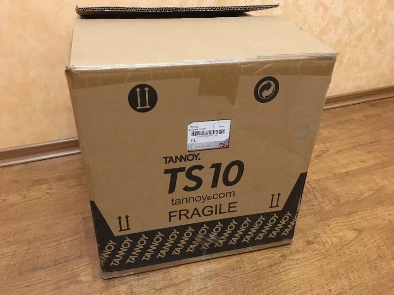 Уникальный сабвуфер Tannoy TS 10, активный, встроенный усилитель - Фото 3